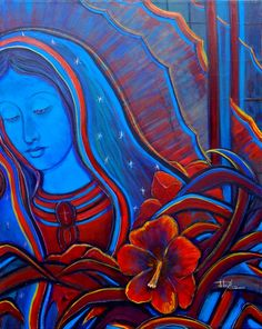 Image Detail for - Guadalupe Tonantzin Divine Mother, Mother Mary, San Juan Diego, Mexico Art, Mama Mary, Holy Mary, Chicano Art, Blessed Virgin Mary, Blessed Mother