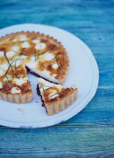 goat's cheese & sun-dried tomato tart | Jamie Oliver | Food | Jamie Oliver (UK)