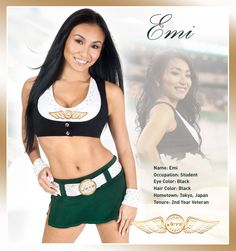 Emi Jets Cheerleaders, Hottest Nfl Cheerleaders, Jets Football, Football Stuff, Cute Cheer Pictures, Professional Cheerleaders, Ice Girls, American Sports, New York Jets