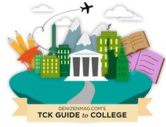 Free TCK (Third Culture Kid) guide to college. For missionary kids, military kids, foreign service kids coming home to study.