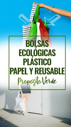 Impacto de las bolsas de Plástico, Papel y Reusable | Bolsas Ecológicas. Por favor comienza a usarlas. ¿Cuanto tiempo deberias utilizar cada una? How To Become Vegan, Vegan Baby, Good Sources Of Protein, Minimalist Living, Diy Cleaning Products, Nutritious Meals, Zero Waste, Everything, Environment