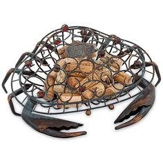 We're your last stop for Nautical, Coastal & beach home decor! From bedding, kitchen decor, wall art, lighting and rugs. We have just about every type of beachy decor available. Beach Theme Kitchen, Kitchen Themes, Wine Cork Holder, Crab Art, Beach Kitchens, Romantic Manga, Wine Gifts, Beach Themes, Apple Muffins