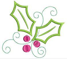 Machine Embroidery Design Applique Christmas by GardenofDaisies