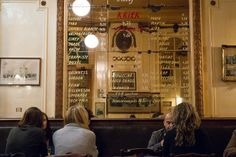 """A la Mort Subite: amazing """"old styled"""" atmosphere.  You feel like you're stepping back in time."""