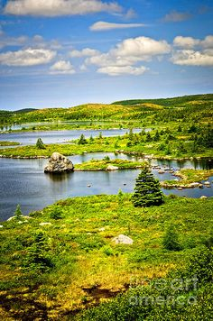 ☀Newfoundland Landscape by Elena Elisseeva ~ Canada*