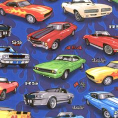 Muscle Car Nursery   Muscle Cars Bedding, Accessories & Room Decor