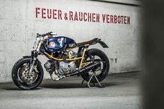 Ducati Pantah 500 Street Tracker - Hermann Köpf.