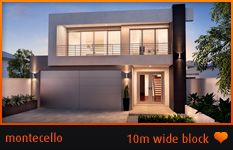 Perth Home Builders | Two Storey Home Designs