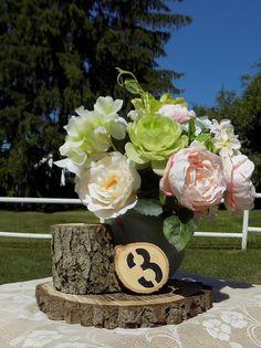 DIY Centerpiece Kit -Woodland Wedding - Unique Wedding Decor - Rustic Centerpiece - Rustic Home Decor - Country Wedding