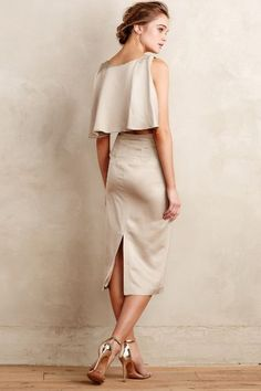 Sinfonia Capelet Sheath - anthropologie.com #anthroregistry Great, great dress. Talk about making an exit!