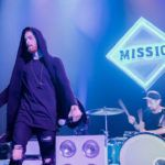 PHOTO GALLERY: Waving middle fingers in celebration under the full moon, Austin, TX's Missio delighted fans at Gramercy Theater in New York City...Via HIGH VOLTAGE
