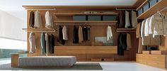 Excellent Walk in Wardrobe Designs Designed Largely and Comfortably: Minimalist For Home Inspiration Ideas Wooden Style Closets Walk In Ward...