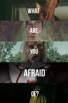 # Angst - ¿De que estás asustado? Scary Movie Quotes, Horror Quotes, Movie Memes, Scary Movies, Horror Movies, Good Movies, Es Pennywise, Pennywise The Dancing Clown, Princesas Disney Zombie