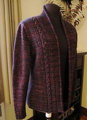 Ravelry: Rhinecliff Cardigan pattern by Valerie Hobbs