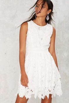 Hit Refresh Fit & Flare Dress - Dresses