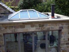 No crestings or finials Rooflights