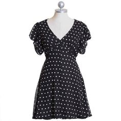 Cutest polka dot dress!