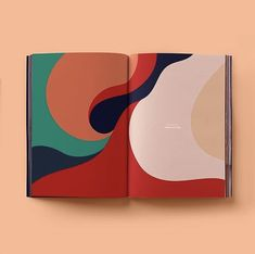 "illustration abstraite : ""Book of ideas, a graphic design journal"", de Radim Malinic, courbes Graphisches Design, Cover Design, Layout Design, Design Ideas, 2020 Design, Page Design, Blog Design, Nails Design, Design Model"
