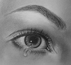 Tear - 35 Emotional Eye Pictures  <3 <3