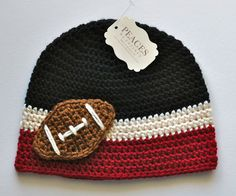 Toddler Hats  Atlanta Falcons Toddler Football by peacesbycortney, $32.00