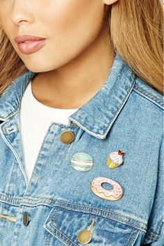 Sunny Food Hamburgers Hot Dog Unicorn Metal Brooch Button Pins Denim Jacket Pin Jewelry Decoration Badge For Clothes Lapel Pins Bright In Colour Home & Garden Arts,crafts & Sewing