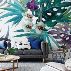 Fotomural orquídea - inspiración , galería de interiores • PIXERS.es