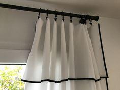 Curtain Ideas, Curtain Designs, Rideaux Design, Elegant Curtains, Home Decor Styles, Window Curtains, Decoration, Window Treatments, Terracotta