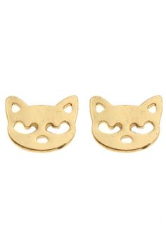 ROMWE | Cat Shaped Earrings, The Latest Street Fashion