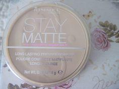 Makyaj Kitabı: Rimmel London Stay Matte Pudra