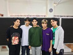 (left to right) Korean Entertainment Companies, 5 Babies, Boy Groups, Rain Jacket, Windbreaker, Guys, Music, Tin, Singers