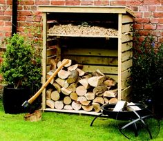 Rowlinson Small Log Store - GardenSite.co.uk