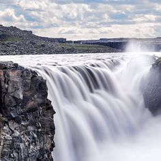 Powerful Dettifoss in Northern Iceland