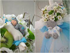 "Lumanare botez - Christening candle "" Tatty teddy bear """
