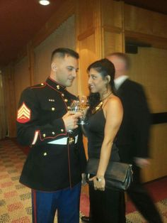 the Marines ball in TLV