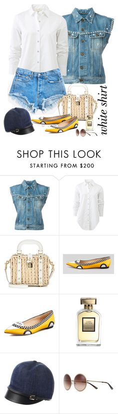 """""""Casual"""" by butterflykate88 ❤ liked on Polyvore featuring Yves Saint Laurent, rag & bone, Levi's, Dolce&Gabbana, Kate Spade, Dsquared2, Tory Burch and WardrobeStaples"""