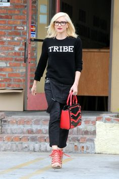 Spotted: Gwen Stefani looks hella good on July 14 in Los Angeles