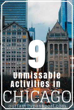 9 Unmissable Activities In Chicago