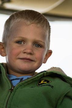 Future generation of farming - Farm kiddo from Stirlist.com #Familyfarm #farmkids #farming #GenZ #JohnDeere #food #Nebraska