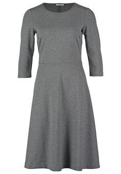 Sukienka z dżerseju - light grey melange - Zalando.pl