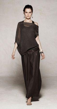The 7 exclusive journal Sarah Pacini, collection pret à porter printemps/été Look Fashion, Womens Fashion, Fashion Design, Fashion Trends, Fashion Hair, Mode Outfits, Casual Outfits, Girl Outfits, Dress Casual