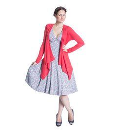 Blutsgeschwister Oh la la tralala dress med ljusblå och rosa blommor Dresses, Vestidos, Dress, Gowns, Clothes, Gown, The Dress, Skirt