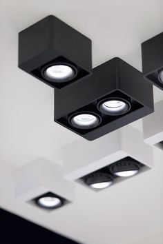 BOXTER LED, Interior Ceiling Surface mounted spots by Delta Light