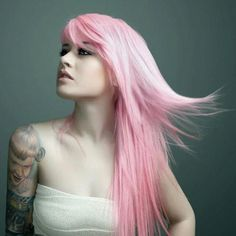 I'm gonna have a beautiful pale pink hair like this