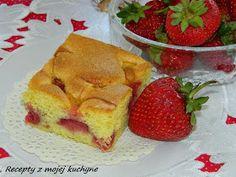 RECEPTY Z MOJEJ KUCHYNE A ZÁHRADY: Bublanina s ovocím French Toast, Strawberry, Pudding, Treats, Fruit, Breakfast, Sweet, Desserts, Food
