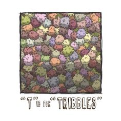 T is for Tribbles - ABCDEFGeek - Collections | TeeFury