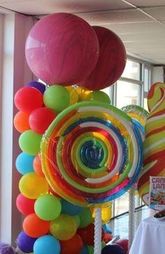 Balloon Lollipops