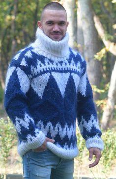 Men in Turtlenecks! Mohair Sweater, Men Sweater, Dressy Sweaters, Hommes Sexy, Lana, Turtlenecks, Pullover, Wool, Guys