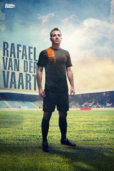 Van Der Vaart -Poster Request- by Kareem Gouda, via Behance