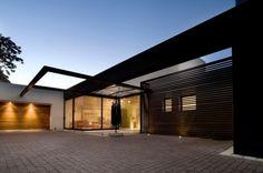 minimalistische Architektur -  Haus Südafrika