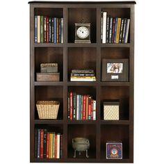 "Poplar 56"" Cube Unit Bookcase"